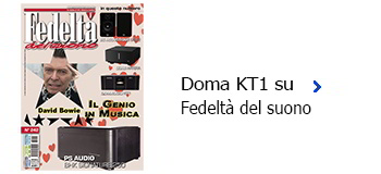 Domaudio KT1 su Fedeltà del Suono